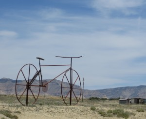 Fruita, Colorado is big biking country. (photo: M. Kopp)