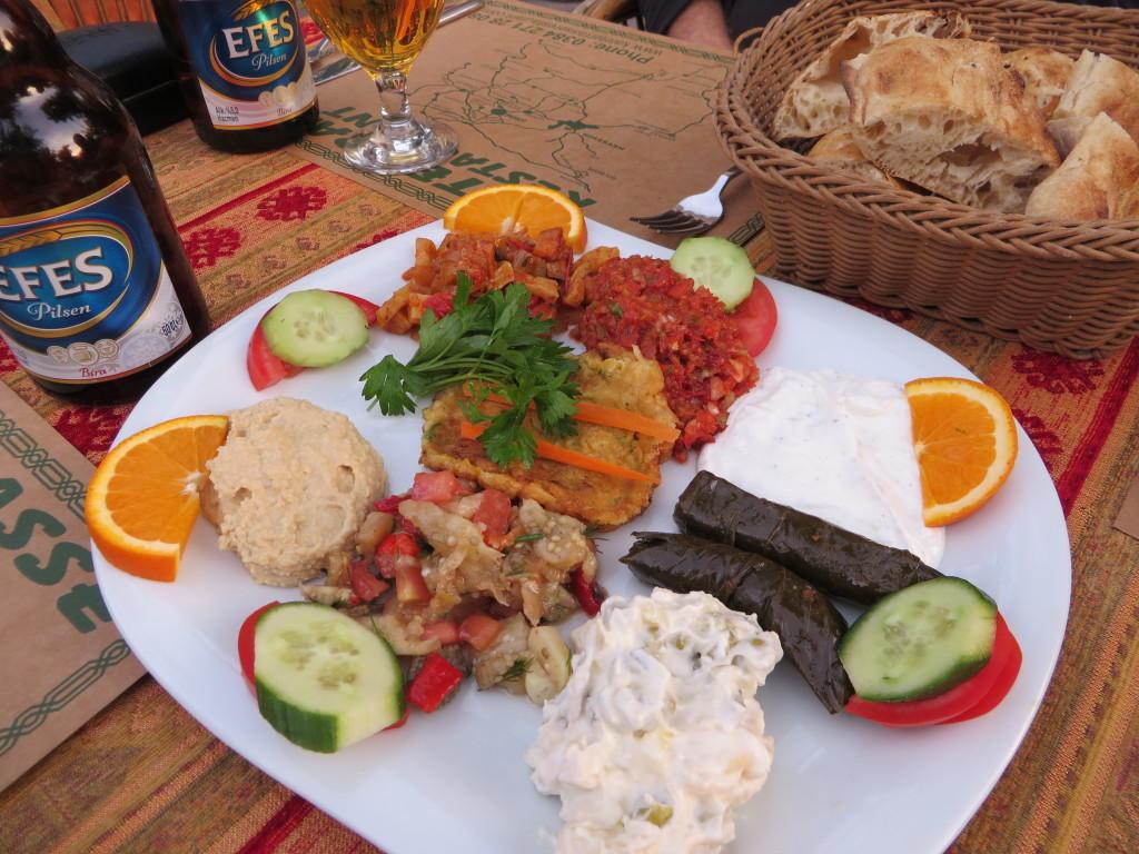 Turkish mezes - a tasteful delight!