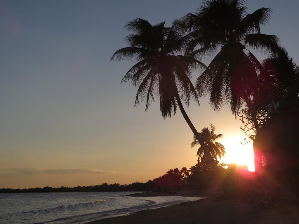 Another perfect sunset at Playa Larga, Cuba. (Credit: M. Kopp)