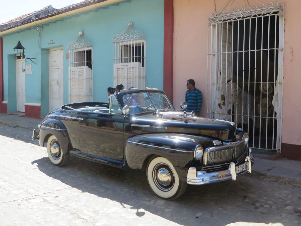 Classic beauty on the outside; modern diesel engine under the hood. (Photo: B. Kopp)