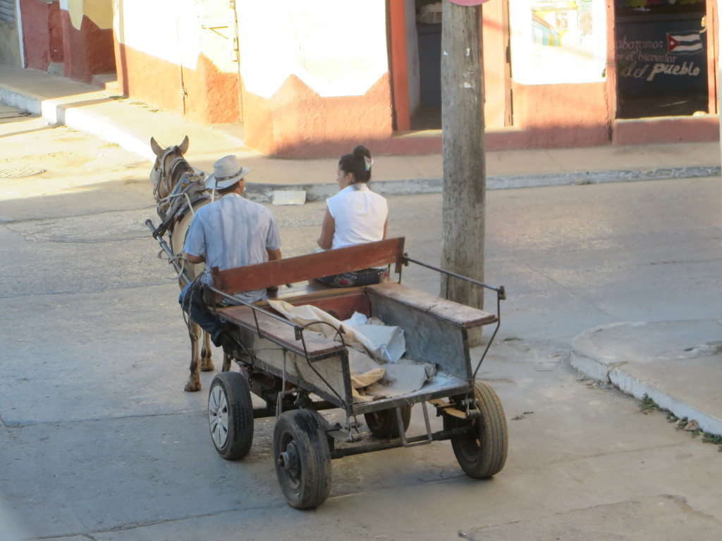 Modern couple with affordable transportation. (Credit: M. Kopp)